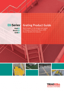 FRP Solutions EX-Series® FRP Grating Guide Glob