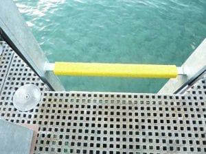 FRP Solutions SAFE-SERIES™ FRP Rung Covers Glob